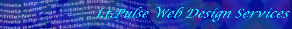 Banner of i.t. Pulse Web Design Services Pty Ltd
